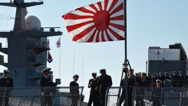 Okręt japońskiej marynarki wojennej - Sputnik Polska