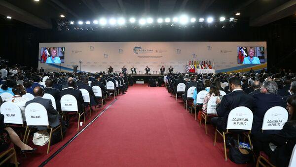 Otwarcie 11. ministerialnej konferencji WTO w Buenos Aires - Sputnik Polska