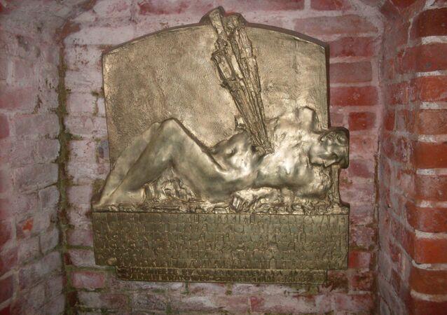 Tablica w Gdańsku upamiętniająca ofiary rzezi wołyńskiej