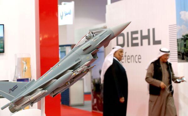 Model wielozadaniowego myśliwca Eurofighter Typhoon - Sputnik Polska