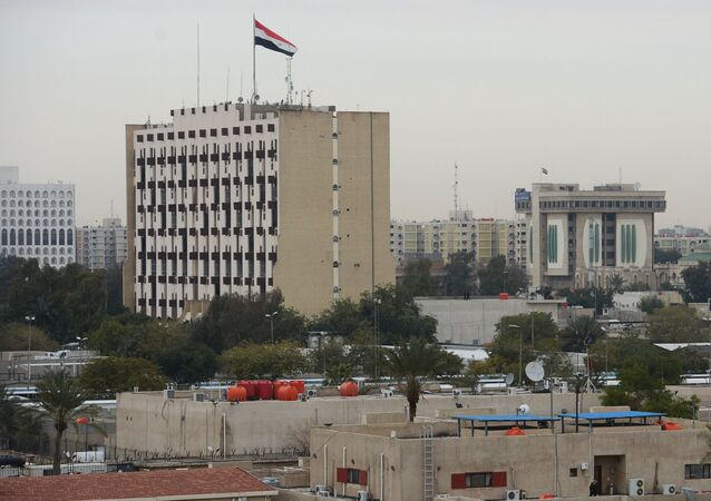 Widok na Bagdad, Irak.
