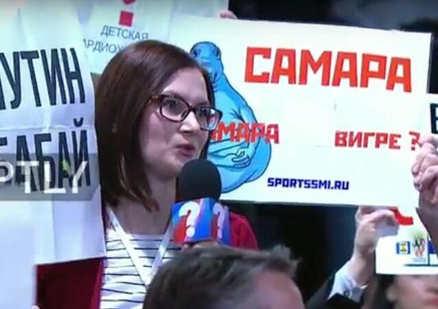 Konferencja prasowa Wadimira Putina