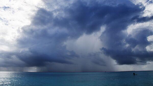 Zjawiska atmosferyczne w okolicach Malediwów - Sputnik Polska