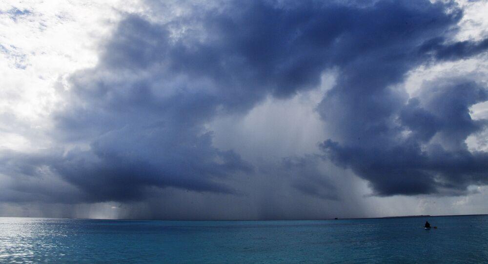 Zjawiska atmosferyczne w okolicach Malediwów