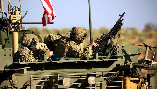 Amerykańscy wojskowi w Syrii - Sputnik Polska