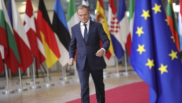 Przewodniczący Rady Europejskiej Donald Tusk - Sputnik Polska