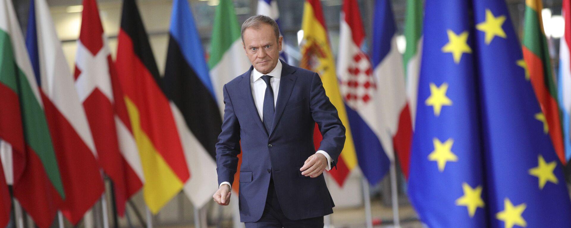Przewodniczący Rady Europejskiej Donald Tusk - Sputnik Polska, 1920, 19.05.2021
