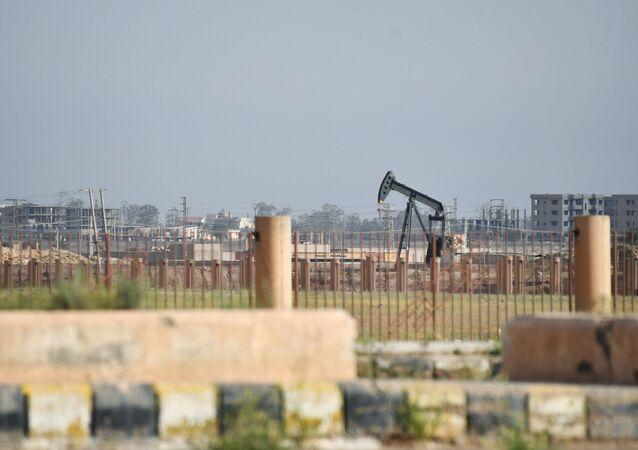 Wydobycie ropy naftowej w Syrii