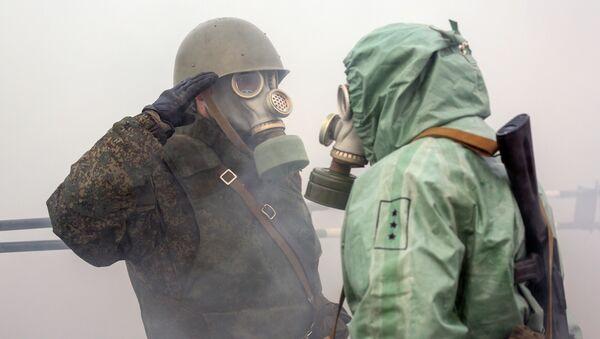 Żołnierze Floty Północnej Federacji Rosyjskiej podczas ćwiczeń - Sputnik Polska
