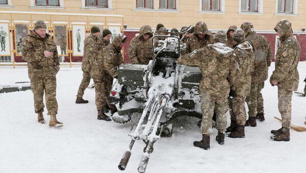 Modele broni i sprzętu wojskowego, które znajdują się na wyposażeniu ukraińskiej armii - Sputnik Polska