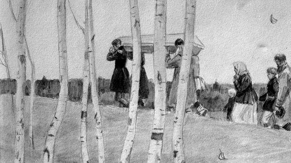Ilustracja do powieści A. Puszkina Dubrowski. - Sputnik Polska