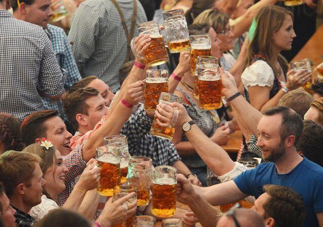 Festiwal piwa Octoberfest w Monachium.