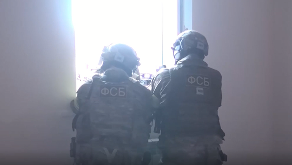 Funkcjonariusze Narodowego Komitetu Antyterrorystycznego  zlikwidowali trzech bojowników w Dagestanie - Sputnik Polska