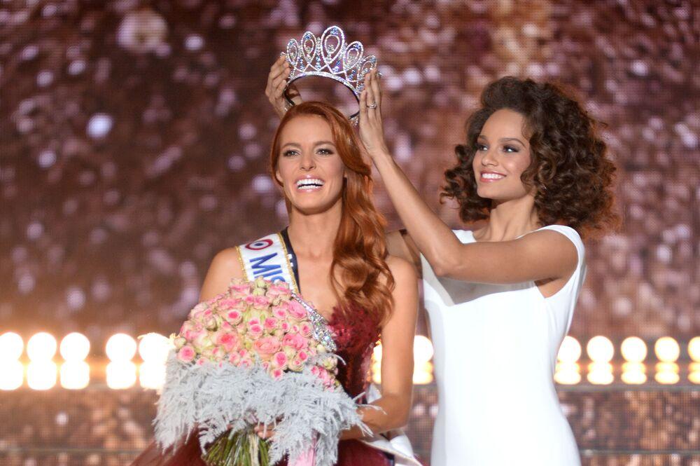 Zwyciężczyni konkursu Miss Francji 2018 Maeva Coucke