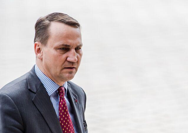 Były szef dyplomacji Radosław Sikorski