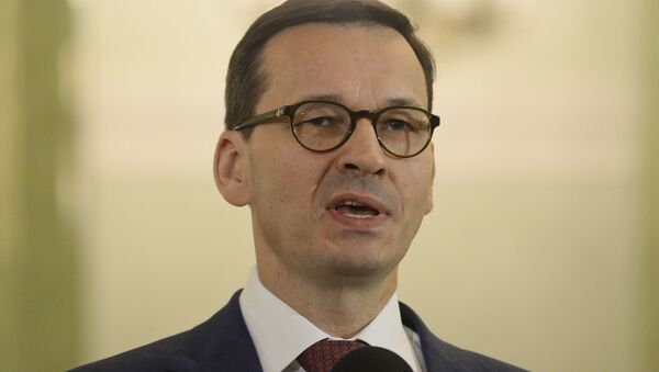 Polski premier Mateusz Morawiecki - Sputnik Polska