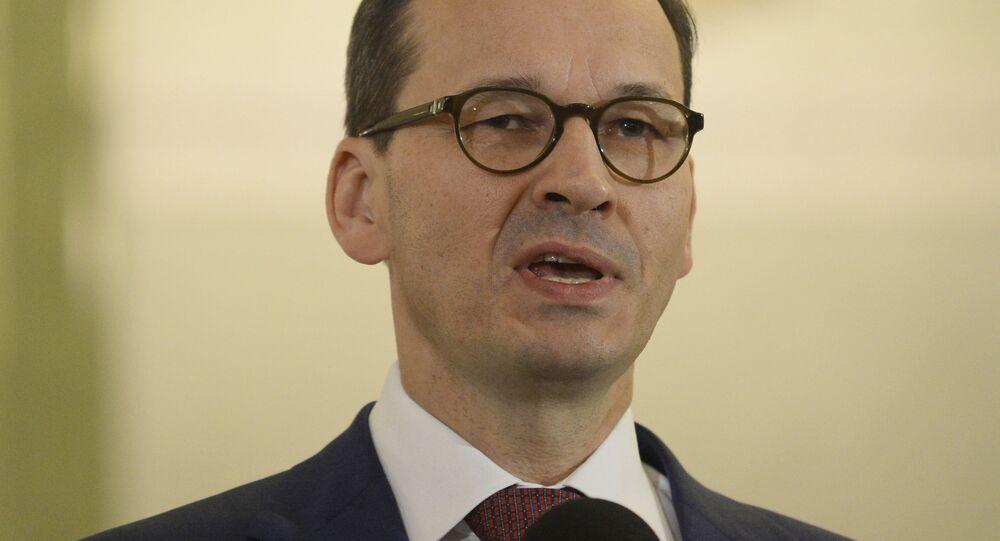 Polski premier Mateusz Morawiecki