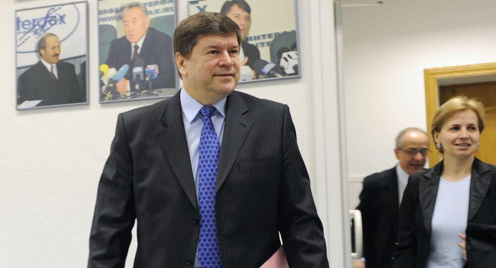 Ambasador Republiki Mołdawii w Rosji Andriej Neguca