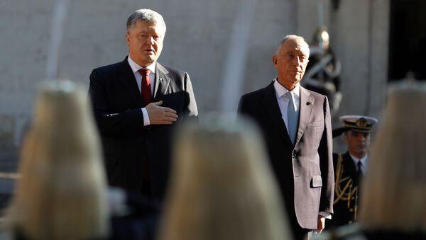 Wizyta prezydenta Ukrainy Petra Poroszenki w Lizbonie - Sputnik Polska
