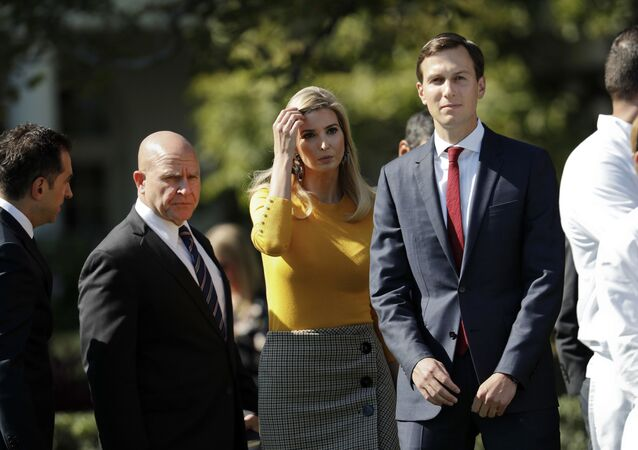 Córka prezydenta USA Ivanka Trump z mężem Jaredem Kushnerem