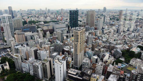 Widok na miasto Tokio - Sputnik Polska