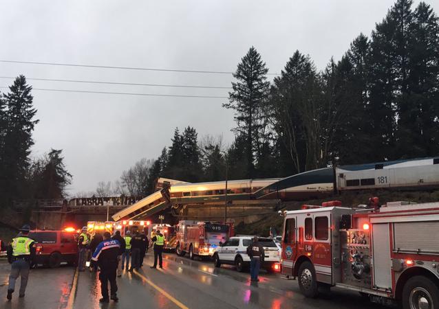 Katastrofa kolejowa w stanie Waszyngton