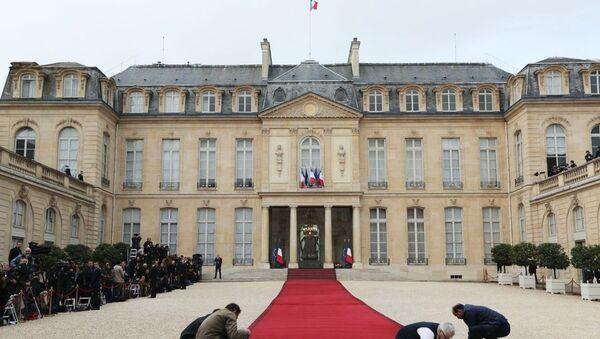 Pałac Elizejski w Paryżu. Zdjęcie archiwalne - Sputnik Polska