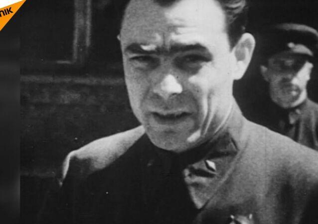 Sekretarz generalny KC KPZR Leonid Breżniew