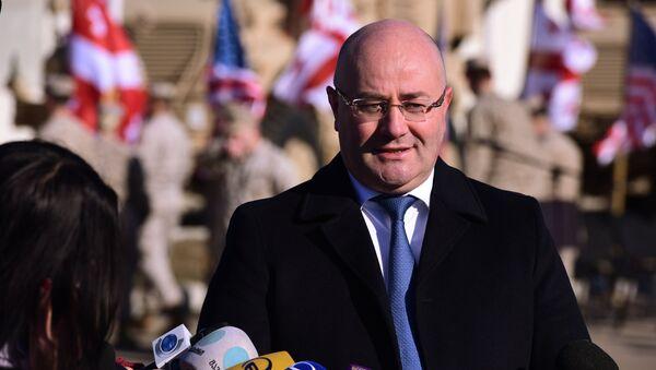 Minister obrony Gruzji Lewan Izoria - Sputnik Polska