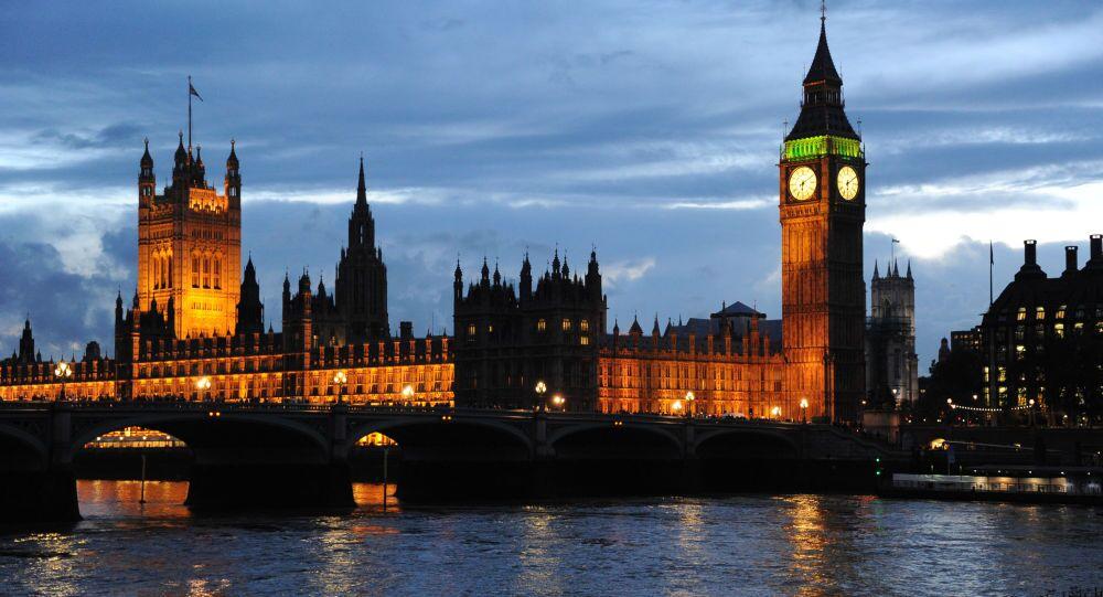 Widok na Pałac Westminsterski i wieża Big Ben w Londynie