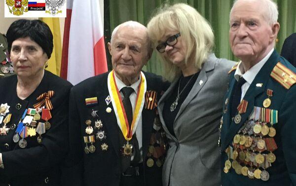 """Międzynarodowa wideokonferencja """"Nasze Wspólne Zwycięstwo"""" - Sputnik Polska"""