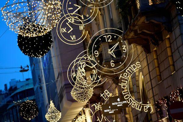 Świąteczne iluminacje we Włoszech - Sputnik Polska