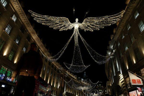 Świąteczne iluminacje w Wielkiej Brytanii - Sputnik Polska