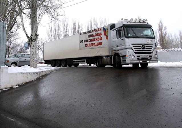 Rosyjska pomoc humanitarna dla Donbasu