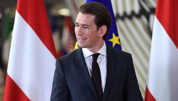Kanclerz Austrii Sebastian Kurz - Sputnik Polska