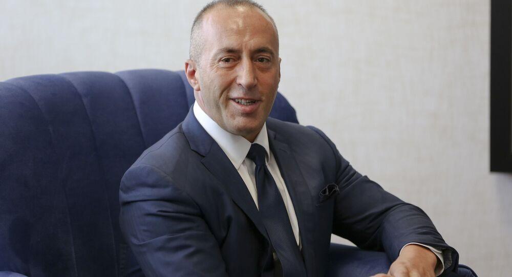 Premier proklamowanej w trybie jednostronnym Kosowa Ramush Haradinaj