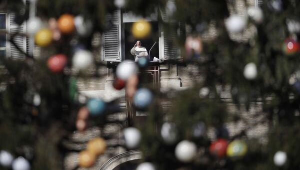 Papież Franciszek na Placu Św. Piotra - Sputnik Polska