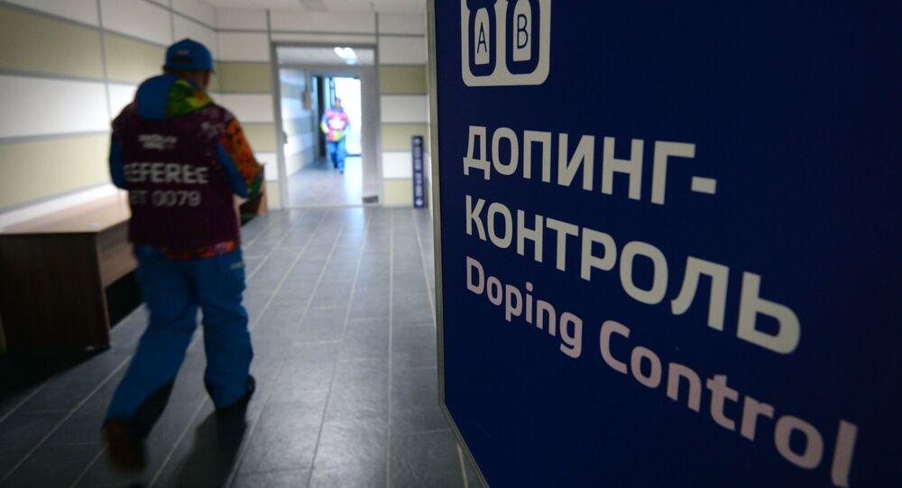 Kontrola dopingowa na XXII Zimowych Igrzyskach Olimpijskich w Soczi