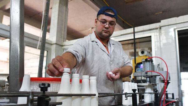 Zakład mleczny w Homs - Sputnik Polska