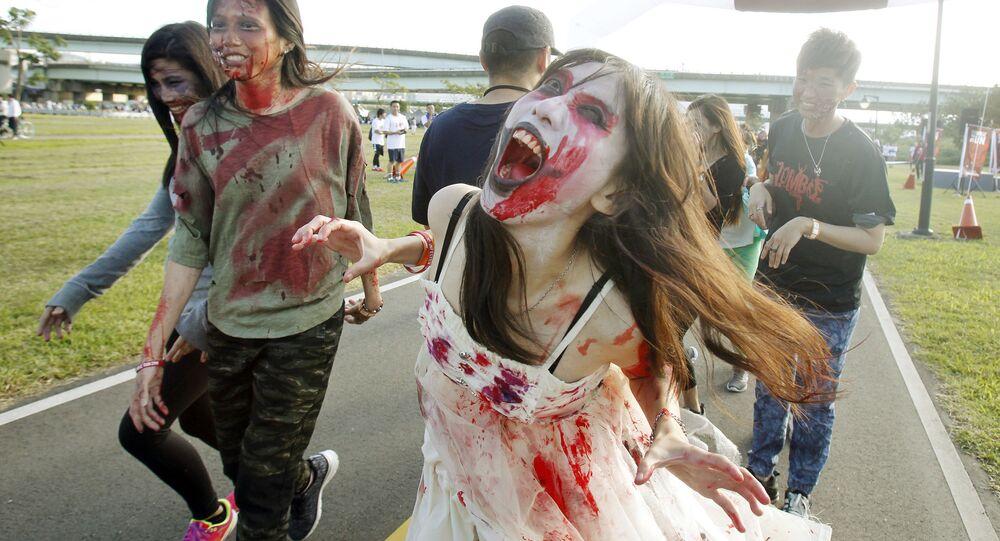 Zombie Run na Tajwanie
