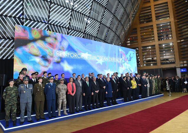 Liderzy państw UE w Brukseli
