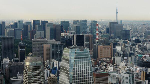 Widok na Tokio - Sputnik Polska