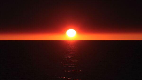Zachód słońca - Sputnik Polska