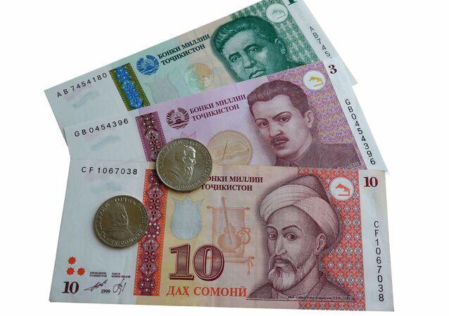 Tadżycka waluta