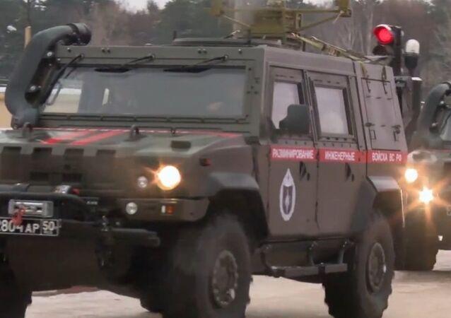 Wojska inżynieryjne przeprowadziły ćwiczenia taktyczno-specjalne pod Chabarowskiem