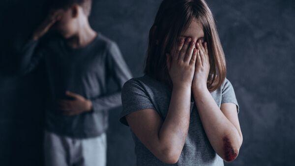 Przemoc wobec dzieci - Sputnik Polska