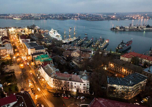 Widok na Sewastopol