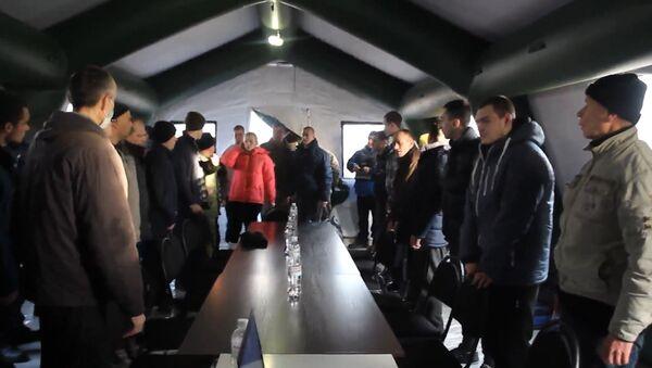 Wymiana jeńców między Kijowem i proklamowanymi republikami DRL i ŁRL - Sputnik Polska