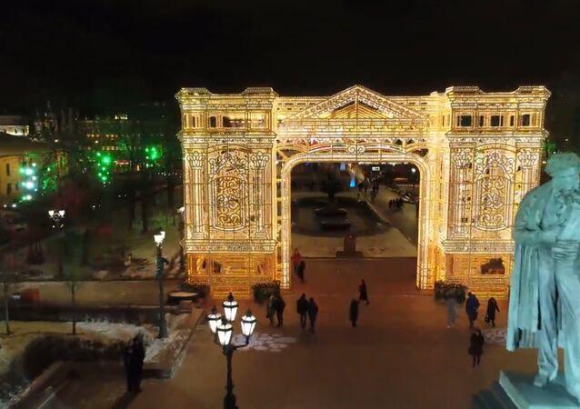 Noworoczna Moskwa