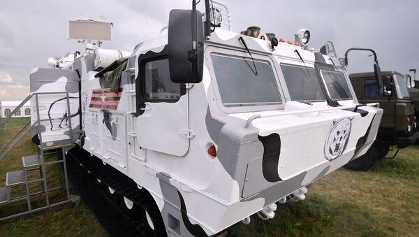 Pojazd bojowy przeciwlotniczego systemu rakietowego Tor-M2DT - Sputnik Polska